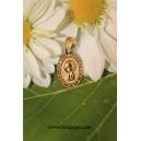 Medalla ligera Virgen niña