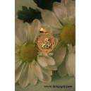 Medalla ligera ángel querubín - Oro -