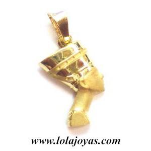 Colgante Oro faraona egipcia