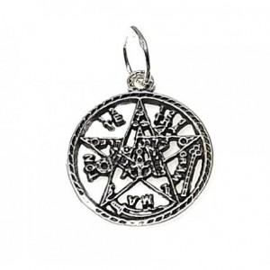 Colgante Tetragramaton - plata de ley
