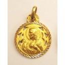 Medalla Sagrado Corazón de Jesús - calado 1 -