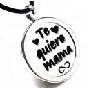 """Colgante """"Te quiero mamá"""""""