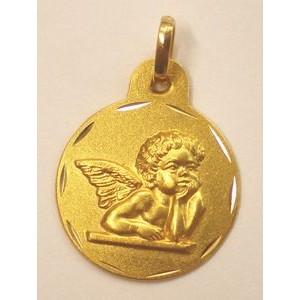 Medalla de ángel nº2 - Oro -